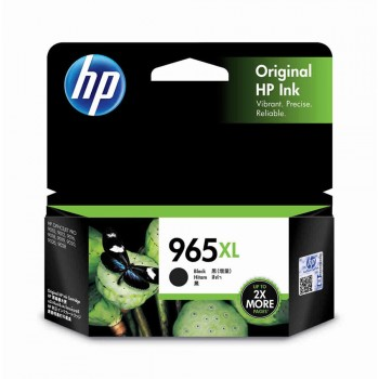 HP 965XL High Yield Black Original Ink Cartridge