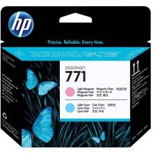 HP 771 DesignJet Printhead - L.Cyan/L.Magenta (CE019A)