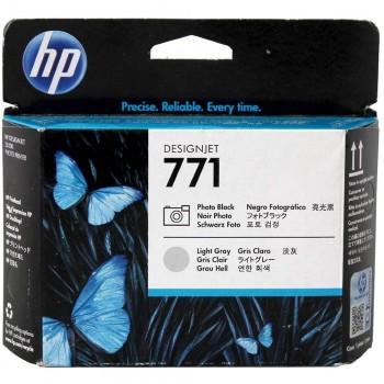 HP 771 DesignJet Printhead - Photo Black/L.Gray (CE020A)