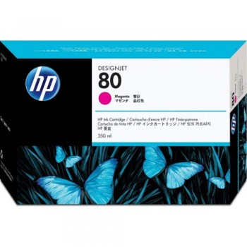 HP 80 DesignJet Ink Cartridge 350-ml - Magenta (C4847A)