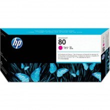 HP 80 DesignJet Printhead/Printhead Cleaner - Magenta (C4822A)