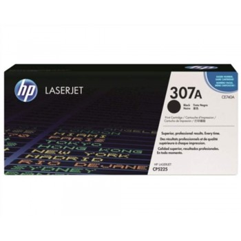 HP 307A Black LaserJet Toner Cartridge (CE740A)