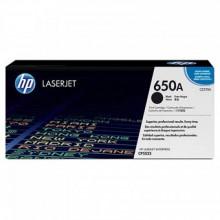 HP 650A Black LaserJet Toner Cartridge (CE270A)