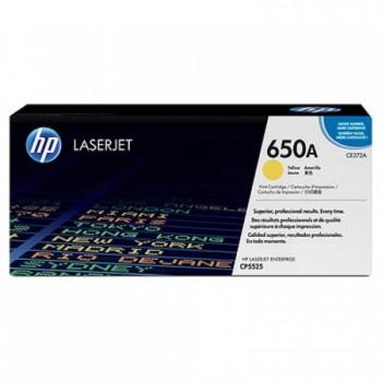 HP 650A Yellow LaserJet Toner Cartridge (CE272A)