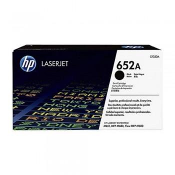 HP 652A Black LaserJet Toner Cartridge (CF320A)