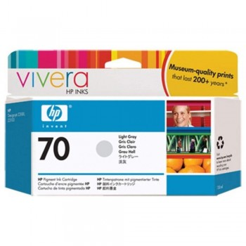 HP 70 130-ml Light Grey Ink Cartridge (C9451A)