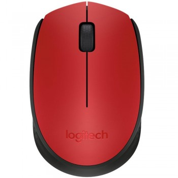 Logitech M171 Wireless Mouse-Red