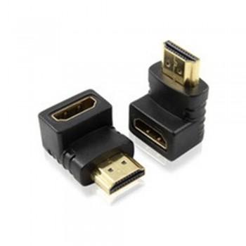 HDMI (M) To HDMI (F) Adaptor - L Shape