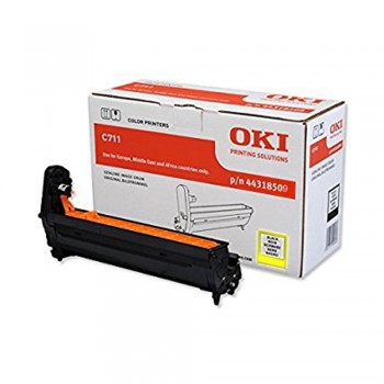 OKI C711/711WT YELLOW DRUM 20K 44318509 (Item no: OKI C711Y DR)