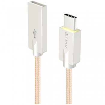 Orico HCU-10 USB Type A to Type C Charge & Sync Cable 1M - Gold