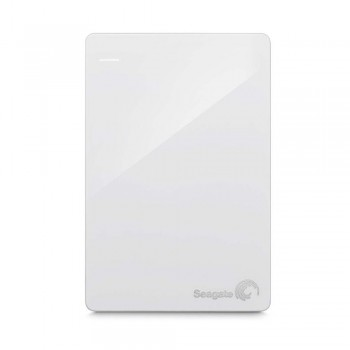 Seagate STDR2000306 Backup Plus 2TB Slim Portable Drive (White)