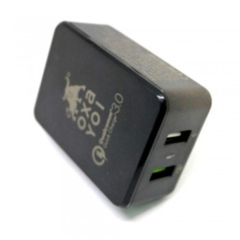 OXA Charger 30W 2 Ports (QC 3.0 + USB Smart Wall)