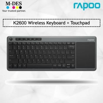 RAPOO K2600 WIRELESS Keyboard With Touchpad