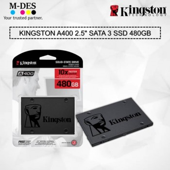 Kingston SSDNow A400 2.5 in 480 GB SSD Hard Drive