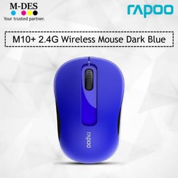 RAPOO M10plus 2.4G Wireless Mouse (Blue)