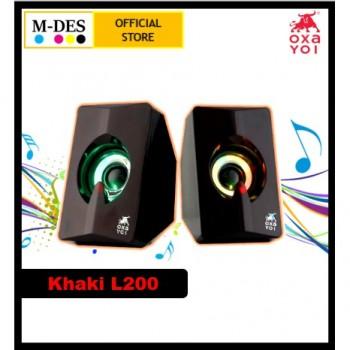 OXA Khaki L200 Speaker - Red