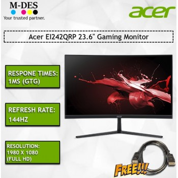 """Acer EI242QRP 23.6"""" Gaming Monitor"""