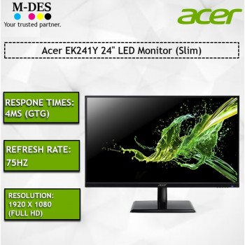 "Acer EK241Y 24"" LED Monitor (Slim)"