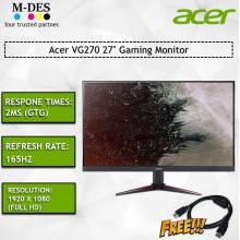 "Acer VG270 27"" Gaming Monitor"