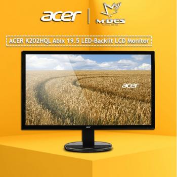 Acer K202HQL 19.5'' LED Monitor (ABIX) HD+ (1366 x 768) LCD