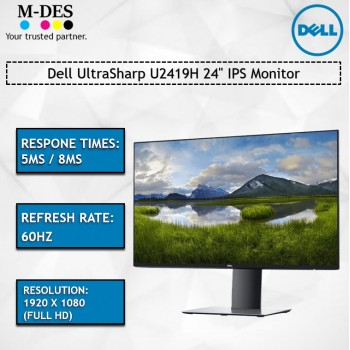 "Dell UltraSharp U2419H 24"" IPS Monitor"