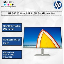 HP 24f 23.8-inch IPS LED Backlit Monitor