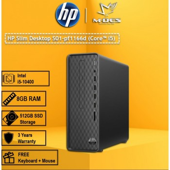 HP Slim Desktop S01-pf1166d (Core i5)