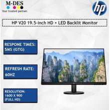 HP V20 19.5-inch HD + LED Backlit Monitor