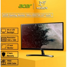 "Acer ED272A 27"" LED Monitor"