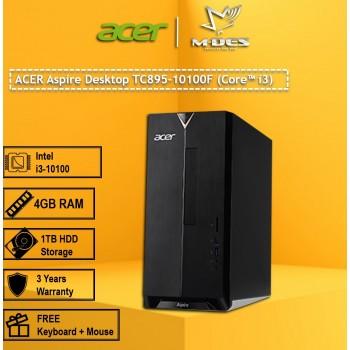 Acer Aspire Desktop TC895-10100F  (Core i3)
