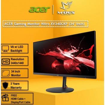 """Acer 34"""" Gaming Monitor Nitro XV340CKP"""