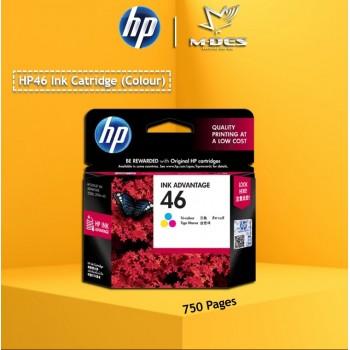 HP 46 Colour Ink Cartridge