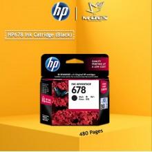 HP 678 Black Ink Cartridge CZ107AA