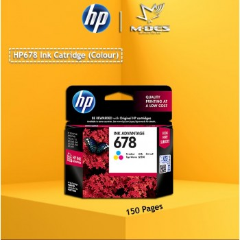 HP 678 Color Ink Cartridge CZ108AA
