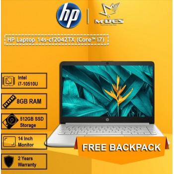 HP Laptop 14s-cf2042TX (Core i7) - Natural Silver