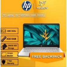 HP Notebook (14s-fq0058au) - Pale Gold