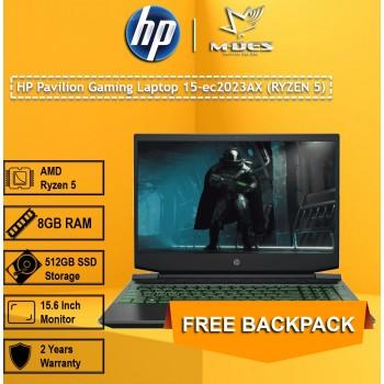 HP Pavilion Gaming Laptop 15-ec2023AX (RYZEN 5) - Shadow Black + Acid Green