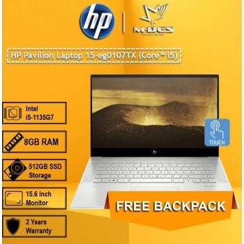 HP Pavillion Laptop 15-eg0107TX (Core i5) - Natural Silver