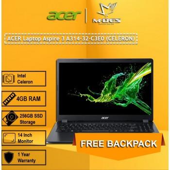 Acer Notebook Aspire 3 (A314-32-C3E0) - Obsidian Black