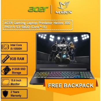 Acer Gaming Notebook Predator Helios 300 (PH315-53-58U0) - Black