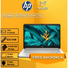 HP Notebook (14s-cf2041TX) - Pale Gold