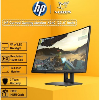HP Curved Gaming Monitor X24C (23.6 inch)