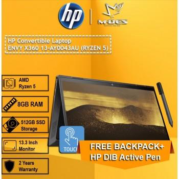 HP Convertible Laptop Envy X360 13-AY004 (RYZEN5)