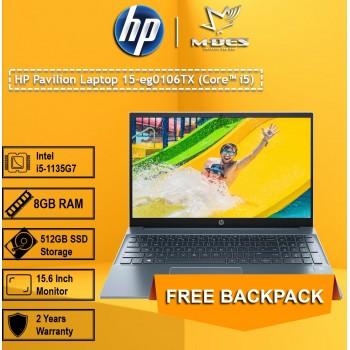 HP Pavillion Laptop 15-eg0106TX (Core i5) - Fog Blue