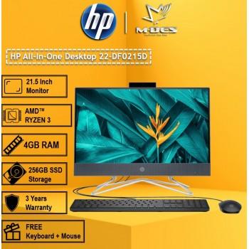 HP All-In-One Desktop 22-DF0215D - Night Blue