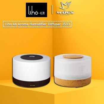 Liho A6 Aroma Humidifier Diffuser JS33 - Black / Brown