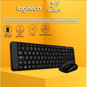 Logitech MK220 Wireless Combo (Black)