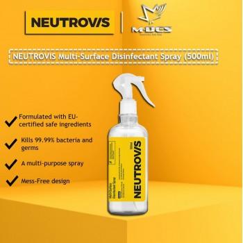 Neutrovis Multi-Surface Disinfectant Spray (500ml)