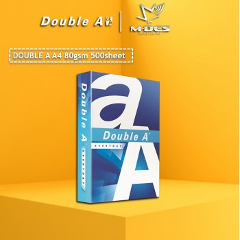Double A A4 Paper 80GSM (500'S)