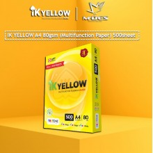 IK YELLOW A4 Paper 80gsm (500's)